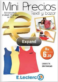ofertas eleclerc textil mayo 2013