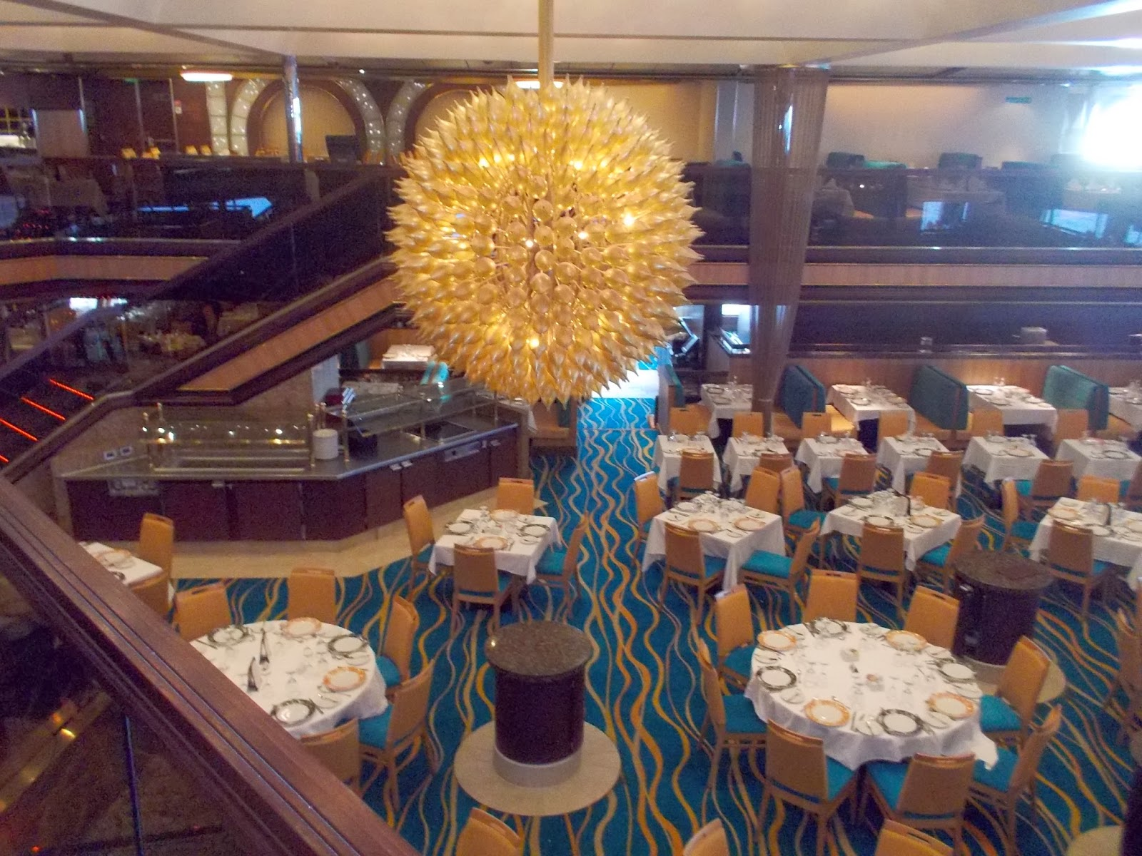 carnival sunshine dining room