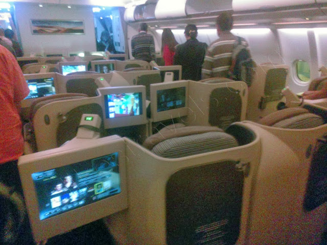 Etihad Airbus A330 - business class