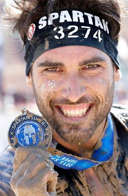 medalla super spartan race