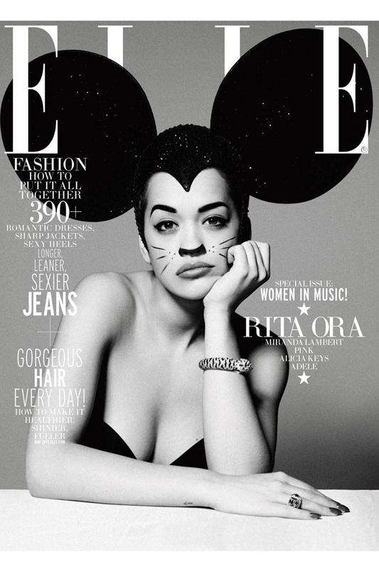 RITA ORA, MAY 2013, ELLE, WOMEN IN MUSIC, MAGAZINE, STYLEDITORIAL101