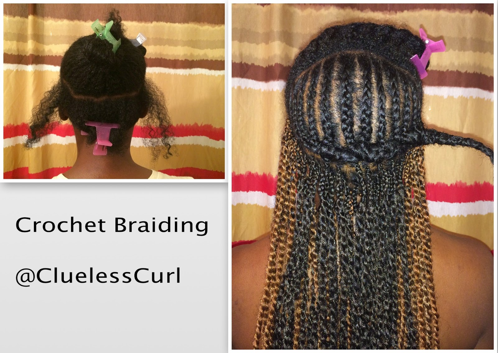 Crochet Box Braids Tutorial : Hair bought from local beauty supply store at $4.99 a pack