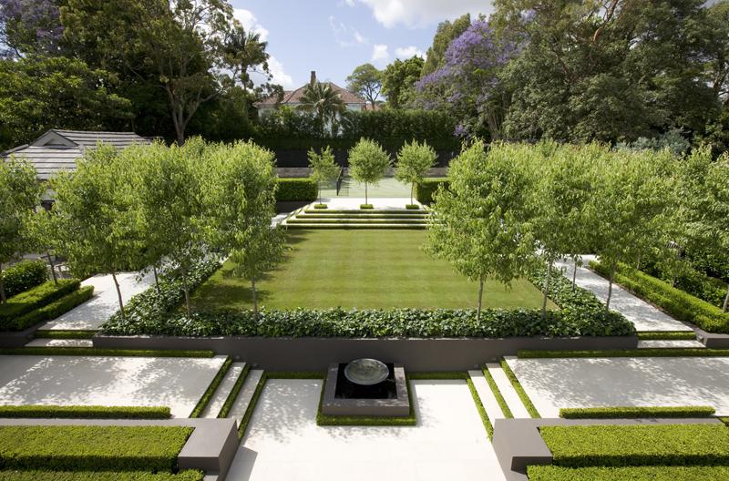 French garden sydney peter fudge angela mckenzie for Landscape gardeners sydney