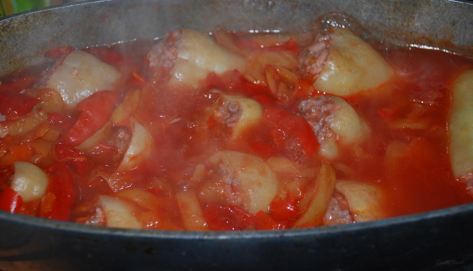 Фаршированные перцы в соусе пошаговый рецепт