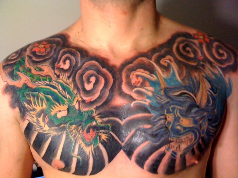 Chest Tattoo Photos Images Pictures | Mortgages