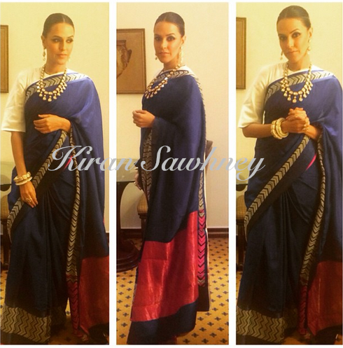 Neha Dhupia in Raw Mango in Delhi