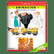 Mi villano favorito 3 (2017) WEBRip 720p Audio Dual Latino-Ingles