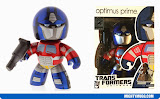 Optimus Prime Metallic Transformers Mighty Muggs Exclusives