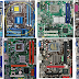 Choose to buy components and final assembly of old computer parts left.