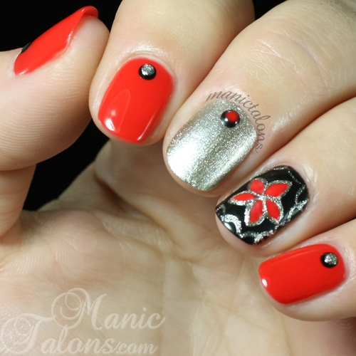 Flower Nail Art with Purjoi One Step Gel Polish