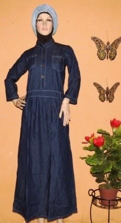 Blue Jeans Colour maxi dress GJ1064