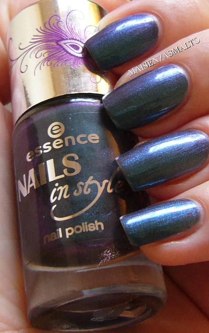 Mai senza smalto!: NOTD: Essence Nails In Style TE