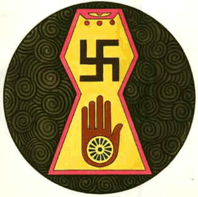 Simbol Agama Jain Dharma