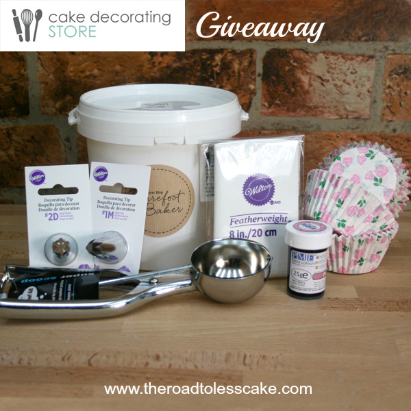 Cupcake Kit Giveaway | The Road to Less Cake
