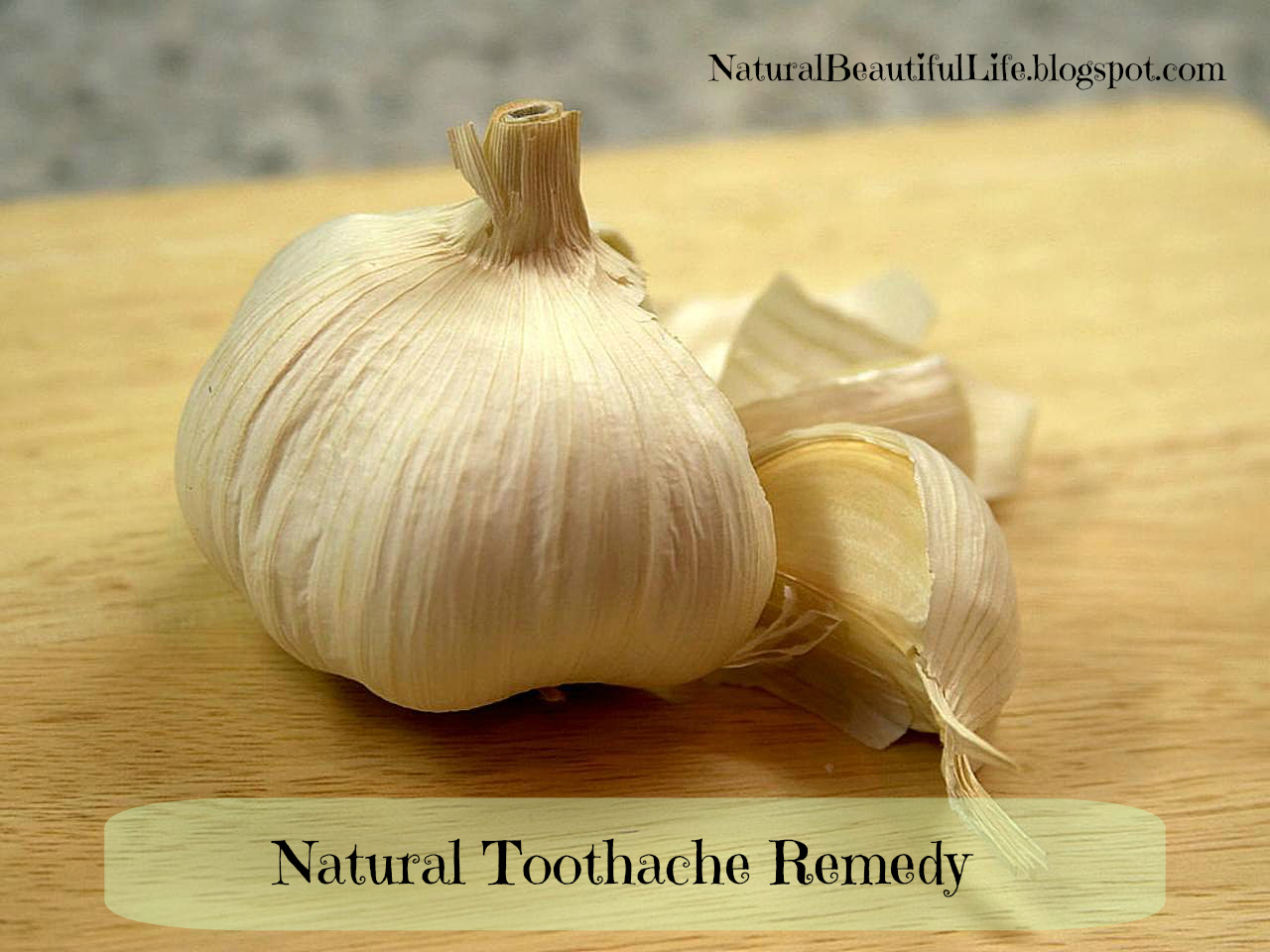 Best Natural Antibiotic For Toothache