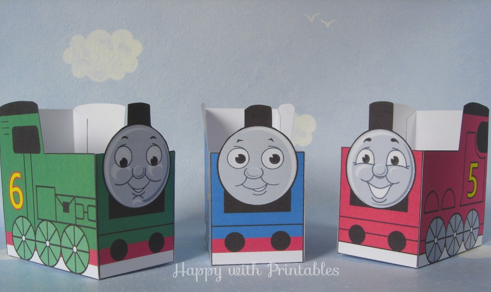 THOMAS THE TRAIN PRINTABLES