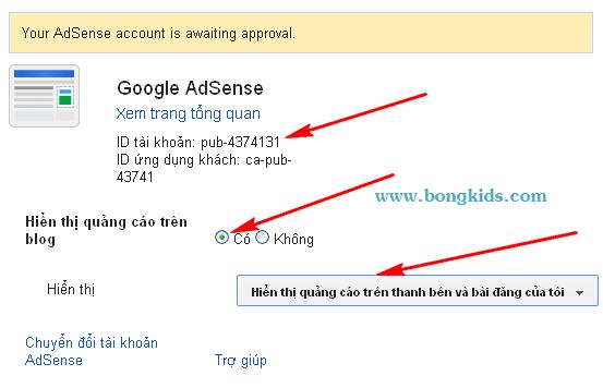 Cách tạo và đăng ký Google AdSense cho Blogspot Blogger 4