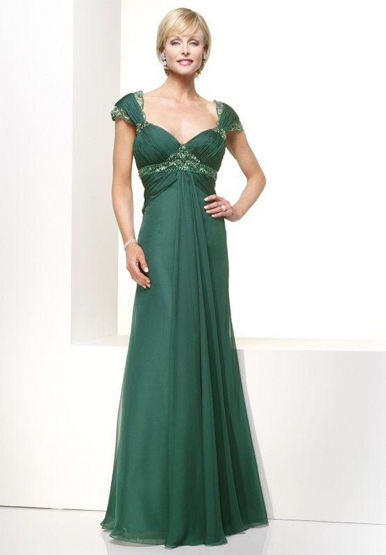 Jade Mother of the Bride Dress