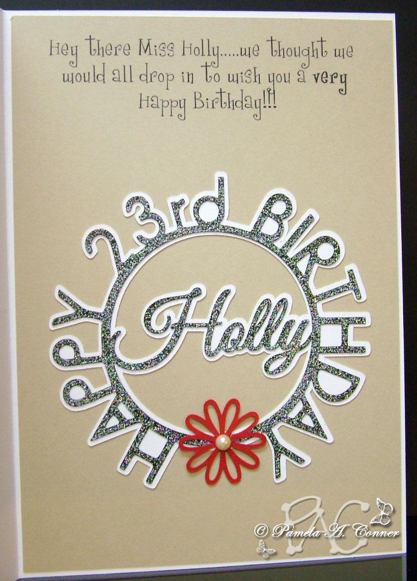 YorkieMoms Creative Corner Happy Birthday Miss Holly – 23 Birthday Cards