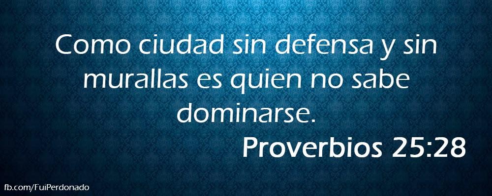 Proverbios 25:28