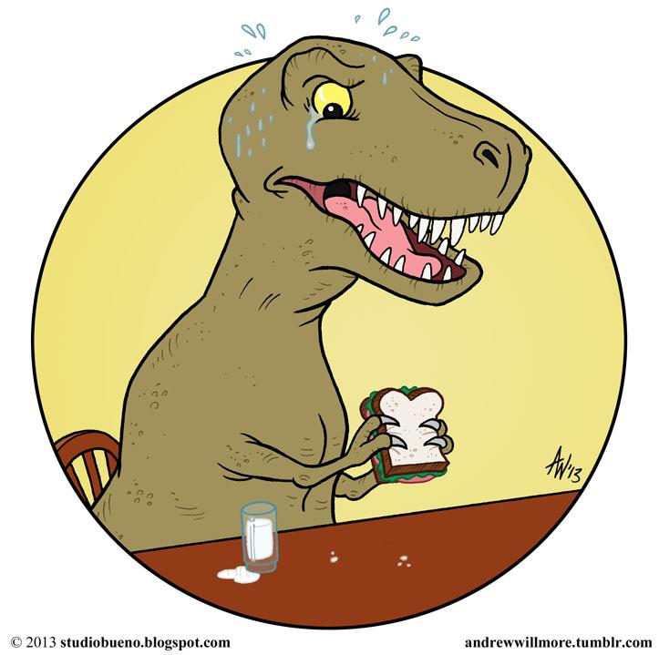 TRex_Dinosaur_Sandwich