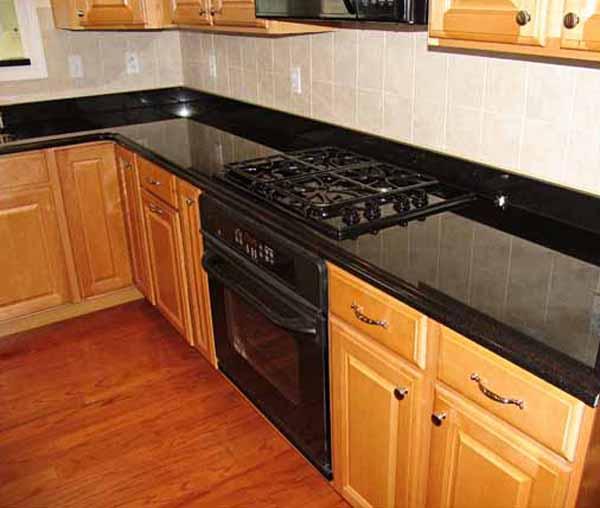 Backsplash Ideas for Black Granite Countertops The Kitchen Design