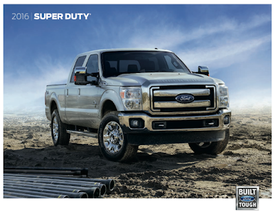Downloadable 2016 Ford Super Duty Brochure