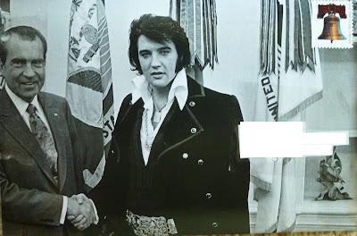 Elvis/Nixon Mail Art