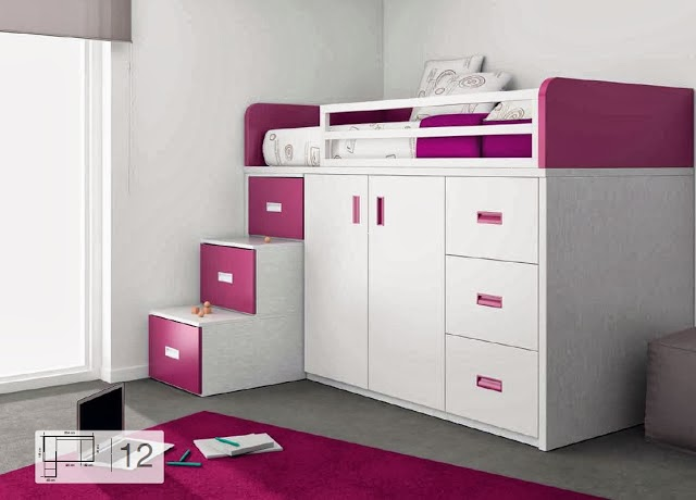 Blog dormitorios juveniles valencia qu es una cama for Medidas camas compactas juveniles