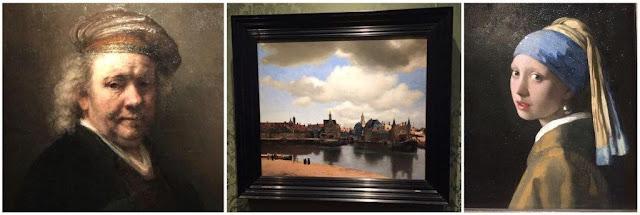 Museo Galería Real de Pinturas Maurithuis en La Haya – Autorretrato de Rembrandt – Vista de Delft de Vermeer – La joven de la perla de Vermeer