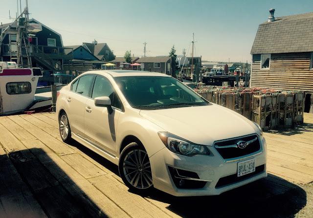 2015 Subaru Impreza 2.0i Sport sedan white front