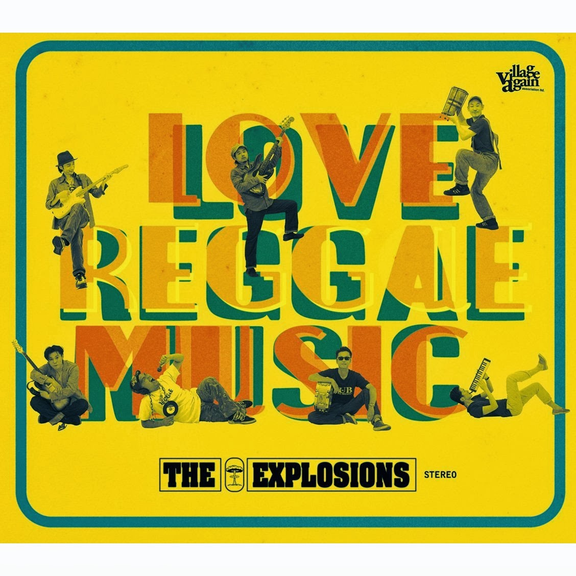 THE EXPLOSIONS / Love Reggae Music