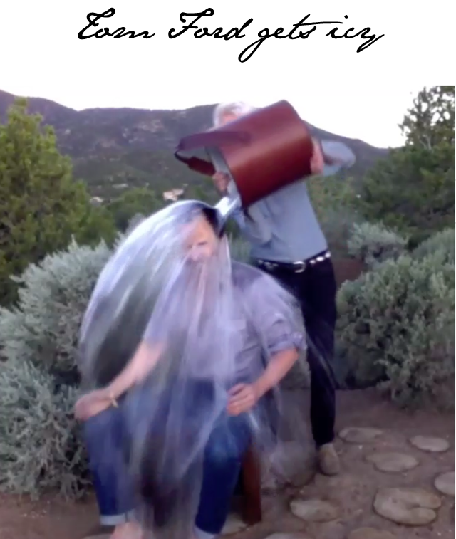 tom ford ice bucket challenge