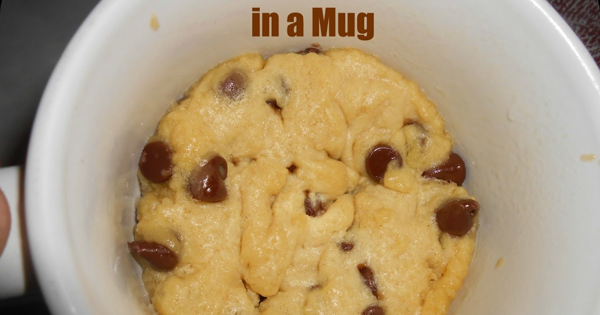 The Better Baker: 1-Minute Chocolate Chip Cookie in a Mug
