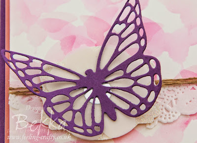 So many butterflies - pretty butterfly card by Bekka Stampin' Up! UK Independent Demonstrator - check it out here