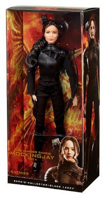 TOYS : JUGUETES - BARBIE Collector : Black Label Katniss Everdeen | Muñeca - doll The Hunger Games : Mockingjay Part 2 Los Juegos del Hambre : Sinsajo Parte 2 Producto Oficial Película 2015 | Mattel CJF33 | A partir de 15 años Comprar en Amazon España & buy Amazon USA