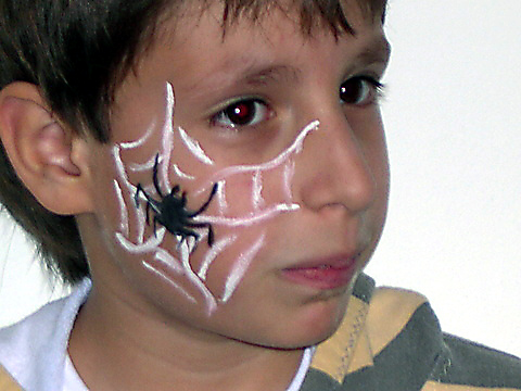 Maquillaje Artístico Arañas