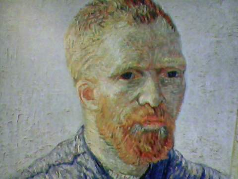 Self-portrait before His Easel (1888)