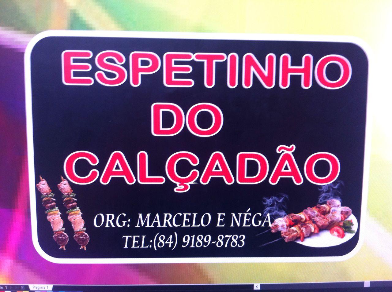 ESPETINHO DO CALÇADÃO