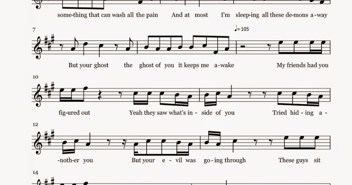 All Music Chords mary did you know sheet music free : Flute Sheet Music: Ghost - Sheet Music