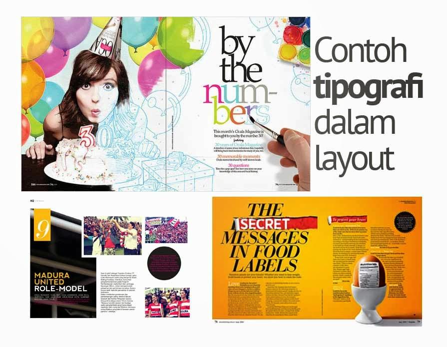 Contoh Layout Majalah Pembuatan Layout Majalah