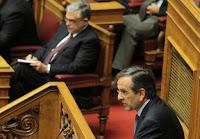 Ο Σαμαράς θα αποσύρει την στήριξη στην κυβέρνηση, αν παραβιασθούν οι αποφάσεις του συμβουλίου αρχηγών