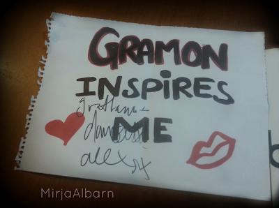 gramon, gramon inspires me
