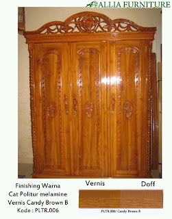 Contoh Furniture Politure Candy Brown B