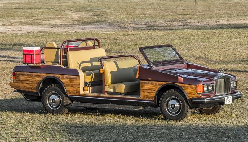 Rolls Royce quail rig