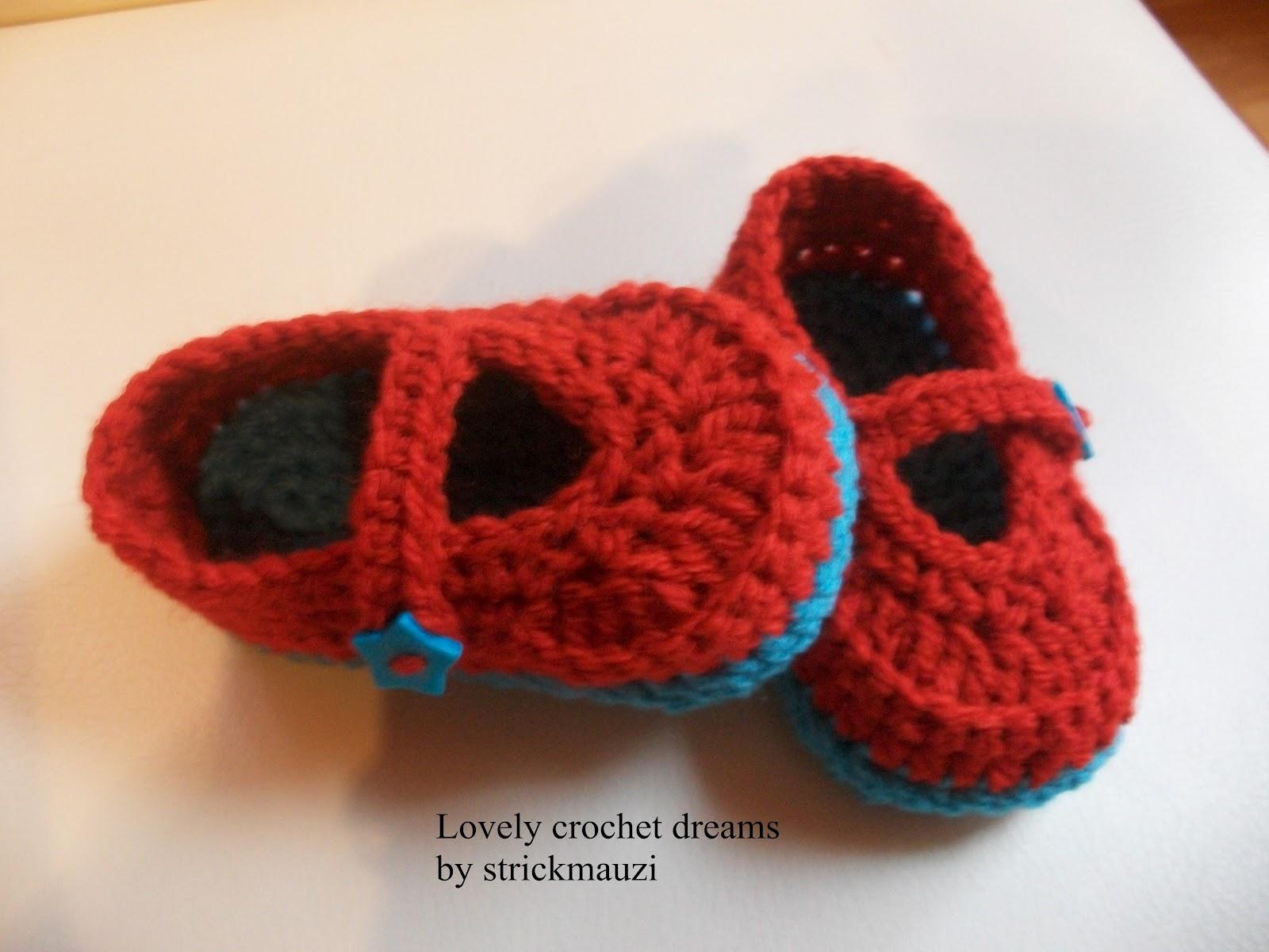 Lovely crochet dreams by strickmauzi: Anleitung Babyschuhe \'Vivian ...