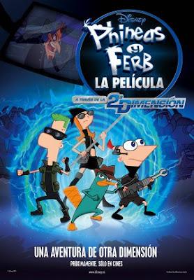 Phineas y Ferb: a Través De La Segunda Dimensión (2011)