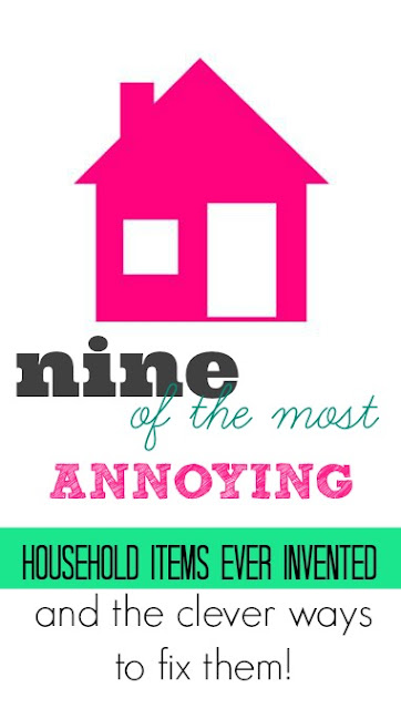 Boob Lights, Toilet Rugs......9 of the Most Annoying Household Items Ever Invented and the Clever Ways to Fix Them