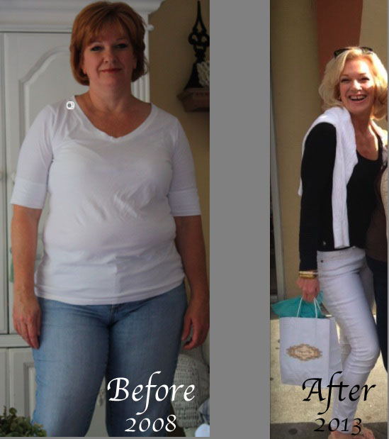 Fit and Fabulous over Fifty: Before and After - 75 lbs weight loss