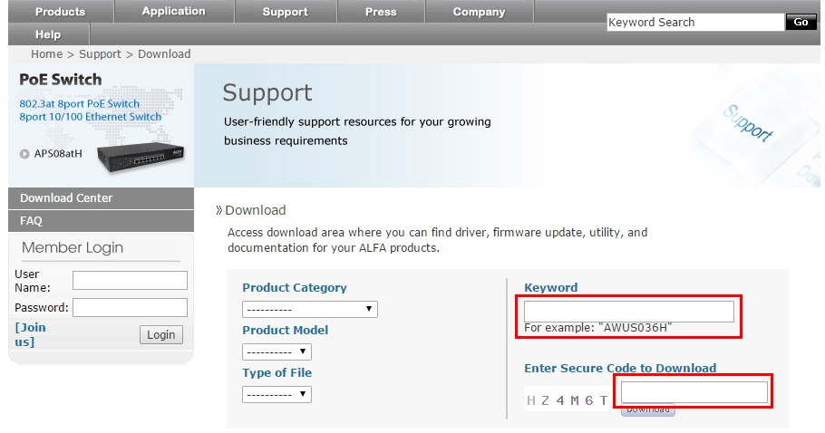 alfa awus036h driver free download windows 7